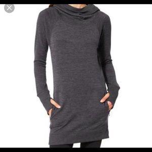 Athleta Blissful Hoodie Dress